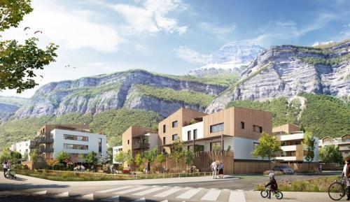 Îlot 1 - Équipe projet : Isère Habitat, GCA : Gilles Charignon Architectures